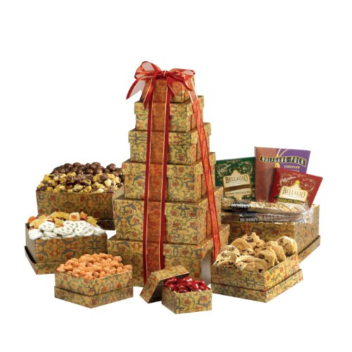 Broadway Basketeers Ultimate Gourmet Gift Tower