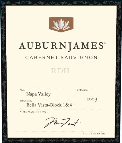 2009 Auburnjames Cabernet Sauvignon, Bella Vista - Block 1 And 4 750 Ml