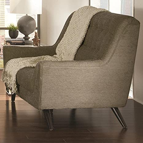 Coaster Home Furnishings 503772 Casual Loveseat, Grey/Grey