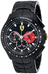 Ferrari Men\'s 0830084 Race Day Analog Display Quartz Black Watch