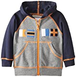 Kitestrings Little Boys' French Terry Zip Front Hoodie