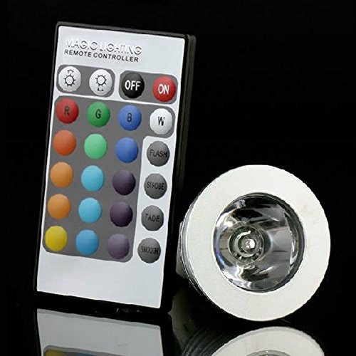 Anse 3W 5W Gu10 E27 Led Spot Light Bulbs Warm White Rgb Color Changing Ball Lamp Bulb Ac 85-265V (Rgb, E27 3W)