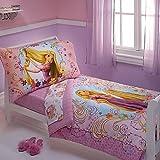 Disney Rapunzel 4 Piece Toddler Set, Purple