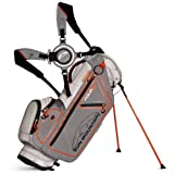 Sun Mountain Golf 2014 Four5 Stand Bag Titanium/Grey/Orange