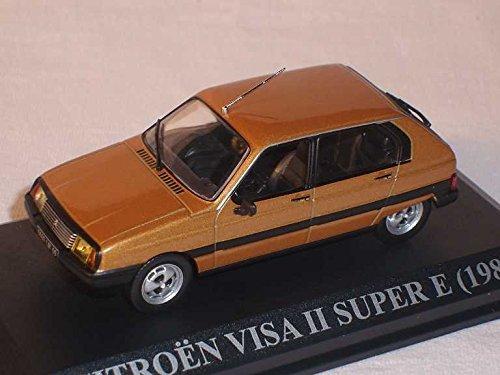 citroen-visa-ii-super-e-braun-1-43-del-prado-modell-auto-modellauto-sonderangebot