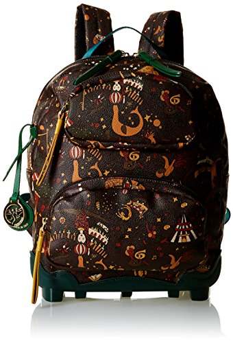 Piero Guidi Magic Circus Be Magic Borsa a Zainetto, 35 cm, Sottobosco