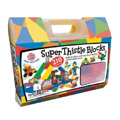 Small World Toys Ryan's Room - Super Thistle Blocks 210 Pc. Set - 1
