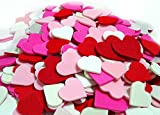 2 Set of 300 Mini Hearts Foam Stickers, Valentine's Day Heart Stickers, Arts and Crafts Decorative Stickers, Pink Heart Adhesive Children's Fun Crafts - Teacher's Art Room Crafts, Acid Free. 600pcs.