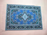 Woven Rug 4x6 #100 Floor Carpet For Doll House or Room Box