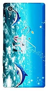 TrilMil Printed Designer Mobile Case Back Cover For Sony Xperia Z5