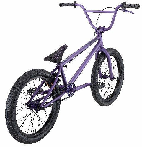 Eastern Bikes Wolfdog BMX Bike (Matte Purple with Black, 20-Inch)