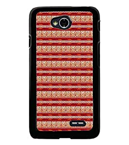 PrintDhaba Tribal pattern D-1984 Back Case Cover for LG L90 (Multi-Coloured)
