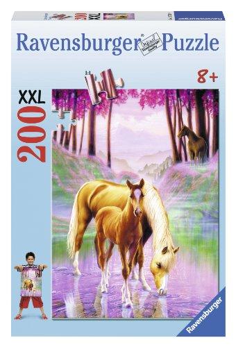 Ravensburger-12726-Puzzle-Chevaux-dans-la-Brume-XXL-200-pices