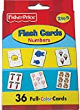 Fisher Price Toddler Flash Cards Counting Numbers