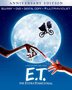 Et The Extra-terrestrial Anniversary Edition Combo Pack Blu-ray Dvd Digital Copy Ultraviolet by Universal Pictures