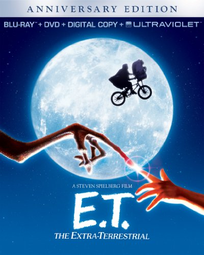 51Xd5BnSYxL E.T. The Extra Terrestrial   Anniversary Edition (Blu ray + DVD + Digital Copy + UltraViolet)