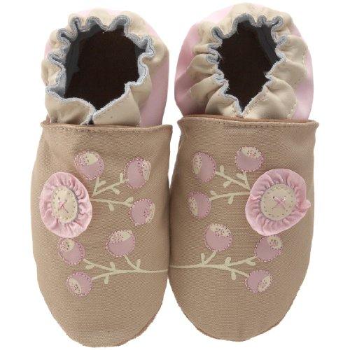 Robeez Soft Soles Kids' Organic Flowers Crib Shoe
