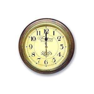 DQL654 英国調 レトロ電波時計 4719ac