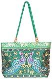 Craftshraft Women's Shoulder Bag (craft-77, Green)