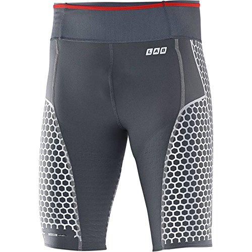 Salomon S-Lab Exo Short (S) corsa Collant - AW15, grigio, S