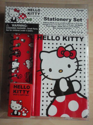 Hello Kitty Stationery Set - Lucky Day