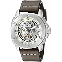 Fossil Machine Skeleton Dial Men's Automatic Watch