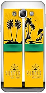 Snoogg Abstract Summer Background Designer Protective Back Case Cover Forsams...