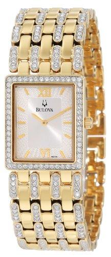 Bulova Men'S 98A124 Crystal Bracelet Watch