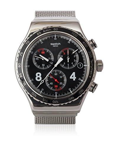 Swatch Reloj de cuarzo Woman BLACKIE S YVS401GB 42.0 mm