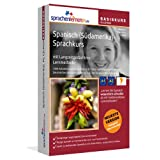 "Spanisch (S�damerika)-Basiskurs mit Langzeitged�chtnis-Lernmethode von Sprachenlernen24.de: Lernstufen A1 + A2. Sprachkurs f�r Anf�nger. PC CD-ROM f�r Windows 8,7,Vista,XP / Linux / Mac OS Xvon ""Sprachenlernen24.de"""