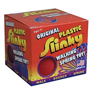 Plastic Slinky (Colors May Vary)