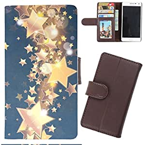 DooDa - For Nokia Lumia 510 PU Leather Designer Fashionable Fancy Wallet Flip Case Cover Pouch With Card, ID & Cash Slots And Smooth Inner Velvet With Strong Magnetic Lock
