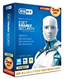 ESET ファミリー セキュリティ 3年版 10万本限定