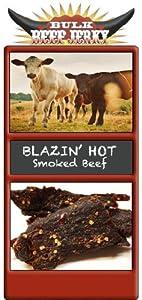 Blazin Hot Smoked Beef Jerky 14 Lb 4oz -bulk Beef Jerky by Bulk Beef Jerky