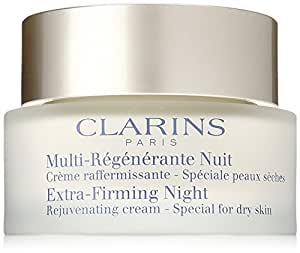Clarins Extra Firming Night Cream, Dry Skin, 1.6 Ounce