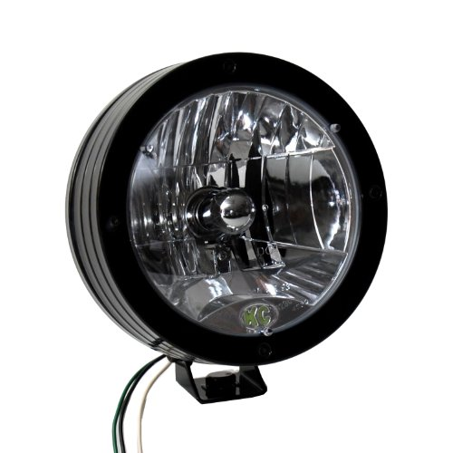 Kc Hilites 1811 Rally 800 Black Coated Stainless Steel H4 Dot Single Headlight