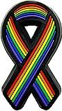 Gay Pride Ribbon - Rainbow Ribbon - Lapel Pin