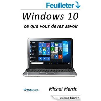 couverture du livre Windows 10 : Ce que vous devez savoir