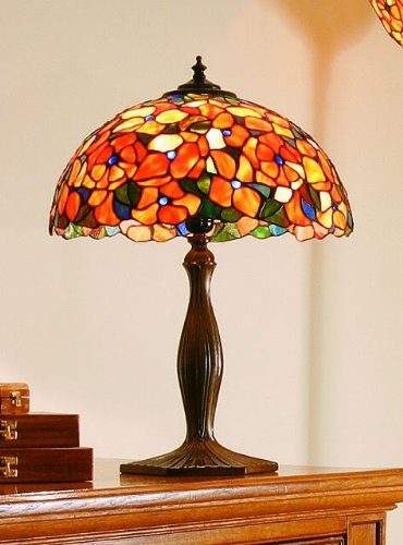 Lights4less -Interiors Josette Quality Tiffany Table Lamp Large