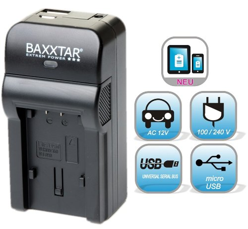 NEU !! 5 in 1 für SONY NP-FW50 Bundlestar® Baxxtar RAZER 600 II (70% mehr Leistung 100% mehr Flexibilität) Ladegerät zu Sony Alpha 5000 6000 Alpha 7 CyberShot DSC RX10 -- Sony NEX-6 NEX-F3 NEX-7 NEX-7B NEX-7C NEX-7K NEX-3 NEX-3N NEX-C3 Nex-5 NEX-5N NEX-5K NEX-5R SLT A55 A33 A35 A37 A3000 usw -- NEUHEIT mit Micro USB Eingang und USB-Ausgang, zum gleichzeitigen Laden eines Drittgerätes (GoPro, iPhone, Tablet, Smartphone..)
