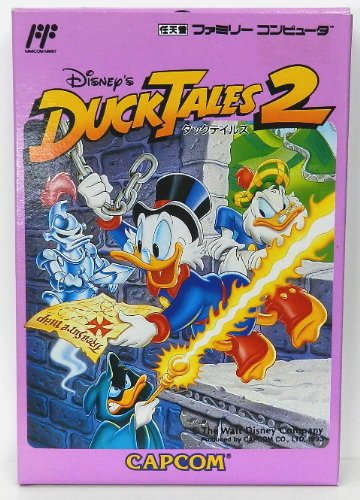 Disney'S Ducktales 2, Famicom (Japanese Nes Import) front-637195
