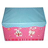 MUREN RECTANGULAR FOLDABLE STORAGE BOX(Light pink)