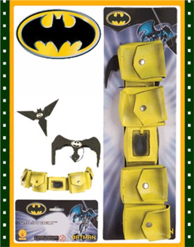Rubies Yellow Batman Utility Belt with Bat Gear - 1