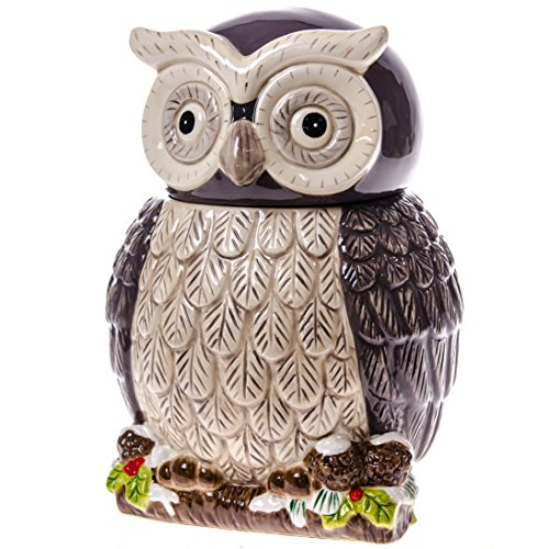 Grey Owl Kitchen: Grey Owl Cookie Jar : Kitchen & Dining