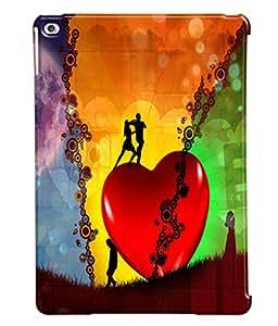 Fuson Love Dance Couples Back Case Cover for APPLE IPAD AIR 2 - D3868