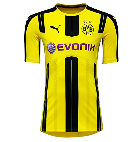 get cheap 37694 ba5d0 2016-2017 Borussia Dortmund Puma Authentic Home Football Shirt - Import It  All