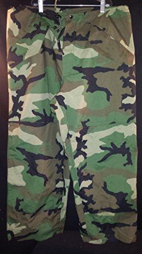 GENUINE US MILITARY ECWCS GORETEX WOODLAND PANTS GORTEX TROUSERS (Military Rain Pants compare prices)