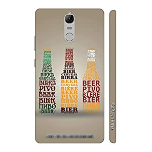 Enthopia Designer Hardshell Case Beer also Called Back Cover for Lenovo Vibe K5 Note