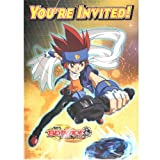 buy Beyblade party invitations