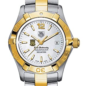Duke University TAG Heuer Watch - Ladies Two-Tone Aquaracer Watch by TAG Heuer